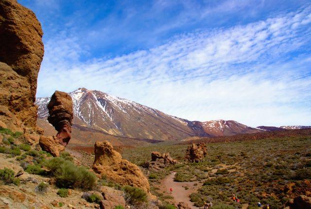 Zdjęcia: El Teide, Teneryfa, w drodze na wulkan, HISZPANIA