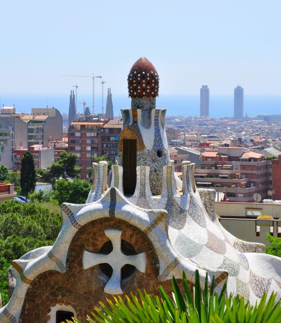 Zdjęcia: Barcelona, Park Guell, HISZPANIA