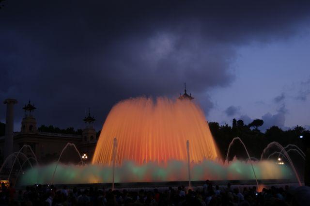 Zdjęcia: Palacio Nacional, Barcelona, Magiczna fontanna, HISZPANIA