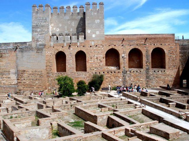 Zdjęcia: Almambra w Granadzie, Poludnie Hiszpanii, Andaluzja-Granada, HISZPANIA