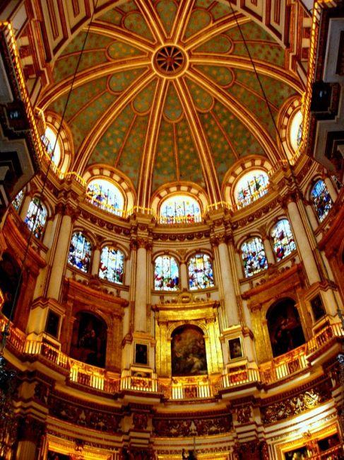 Zdjęcia: Granada-katedra, Poludnie Hiszpanii, Andaluzja-Granada-katedra, HISZPANIA