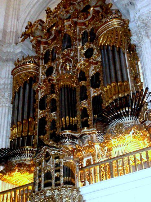 Zdjęcia: katedra w Granadzie , Poludnie Hiszpanii, Granada-katedra, HISZPANIA