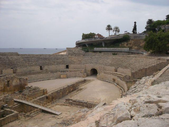 Zdjęcia: Tarragona, Katalonia, starozytny teatr, HISZPANIA