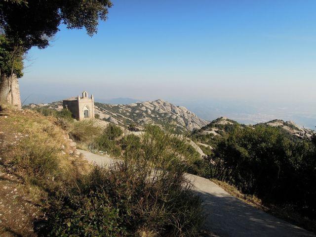 Zdjęcia: Montserrat, Katalonia, kapliczka, HISZPANIA