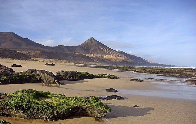 Zdjęcia: Fuerteventura, Wyspy Kanaryjskie , Pusta plaża II, HISZPANIA