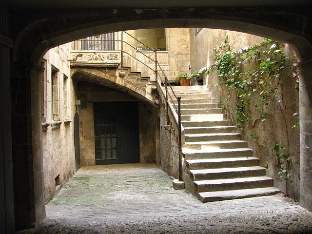 Zdjęcia: Girona, Katalonia, dzielnica żydowska, HISZPANIA
