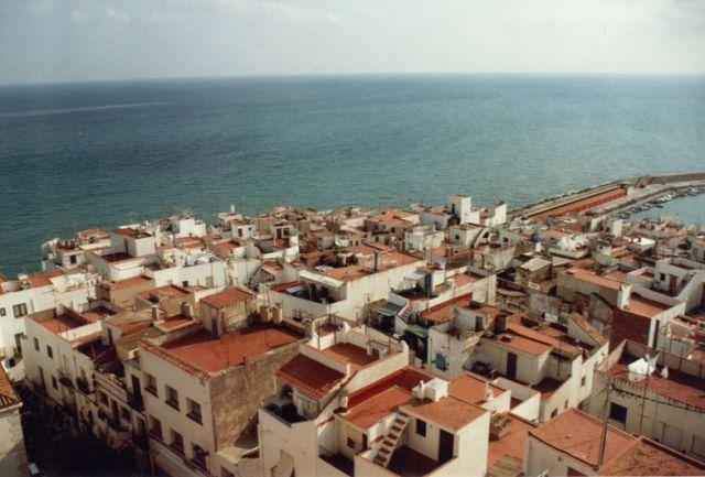 Zdjęcia: wybrzeze, piomiedzy walancja a barcelona, na dachu, HISZPANIA