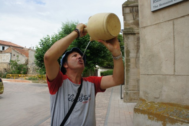 Zdjęcia: Logroño, Camino de Santiago,  La Rioja, Pragnienie, HISZPANIA