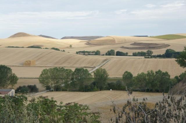 Zdjęcia: Camino de Santiago, Castilli y Leon, Z górki na pagórki, HISZPANIA