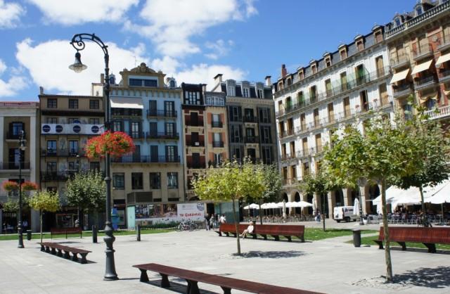 Zdjęcia: Pampeluna, Navarra, La Plaza del Castillo, HISZPANIA