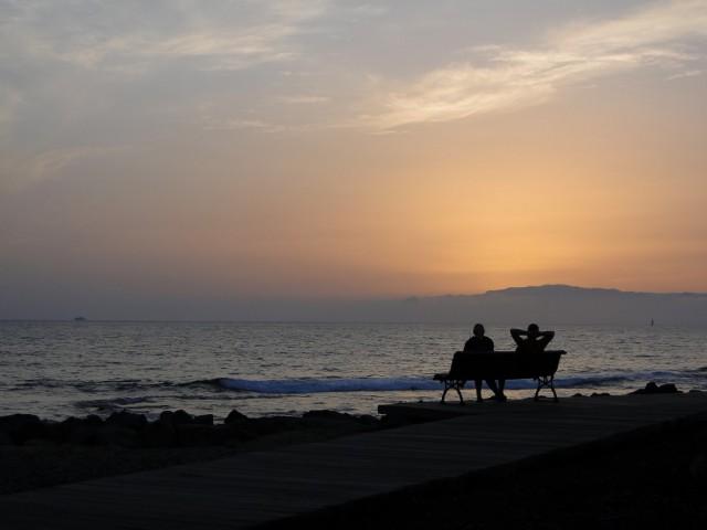 Zdjęcia: Teneryfa, Teneryfa, Upojny wieczór nad oceanem..., HISZPANIA