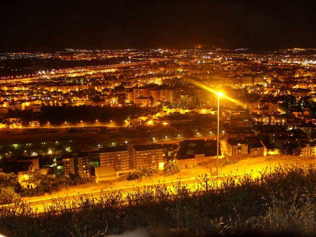 Zdj�cia: granada, hiszpania, noc, HISZPANIA