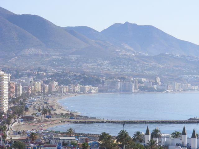 Zdjęcia: Widok z 15 piętra..., Andaluzja-Costa del Sol, Fuengirola, HISZPANIA