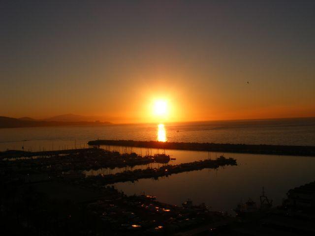 Zdjęcia: Fuengirola, Andaluzja-Costa del Sol, Zachód słońca - port, HISZPANIA