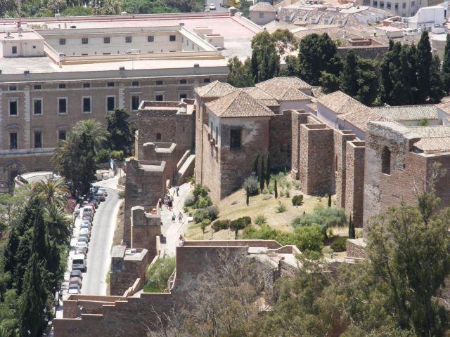 Zdjęcia: Malaga, Andaluzja-Costa del Sol, Zamek, HISZPANIA
