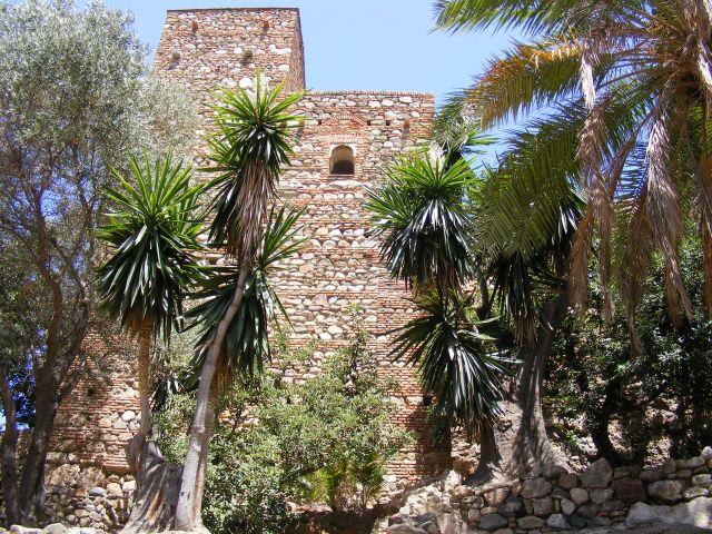 Zdj�cia: Malaga, Andaluzja-Costa del Sol, Twierdza, HISZPANIA