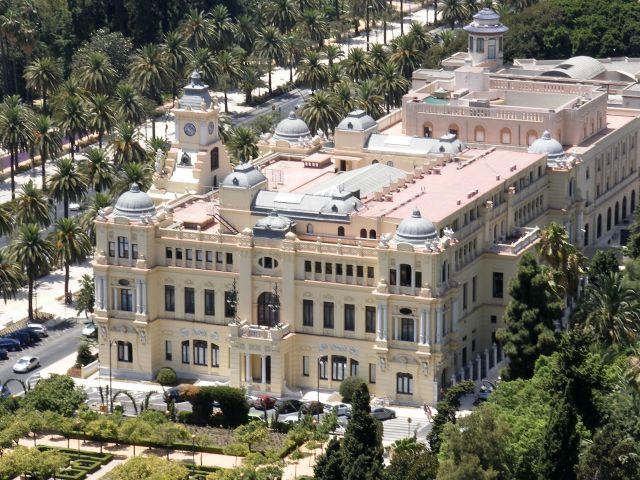 Zdjęcia: Malaga, Andaluzja-Costa del Sol, Pałac, HISZPANIA