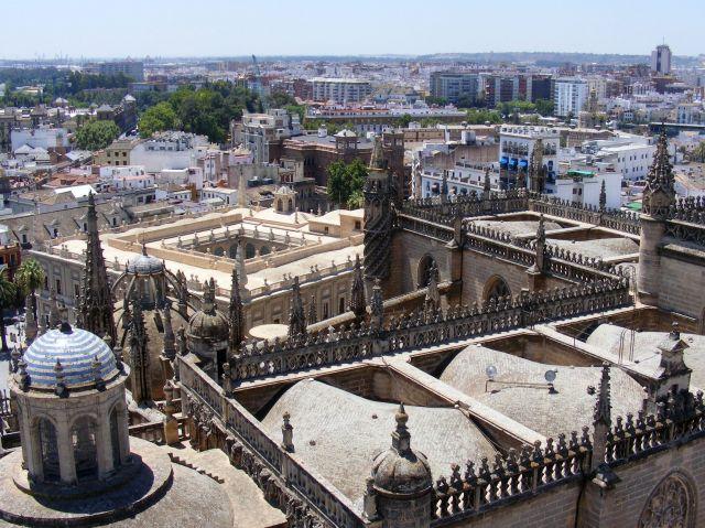 Zdjęcia: Sewilla, Andaluzja, Widok na Sewillę z La Giraldy, HISZPANIA