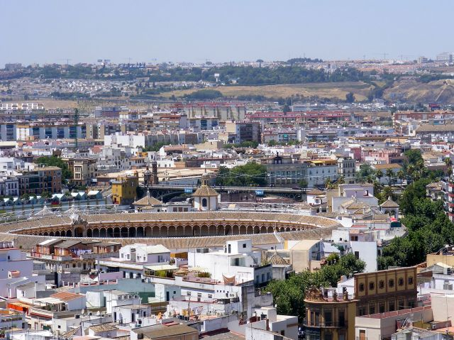 Zdjęcia: Sewilla, Andaluzja, Panorama Sewilli, HISZPANIA