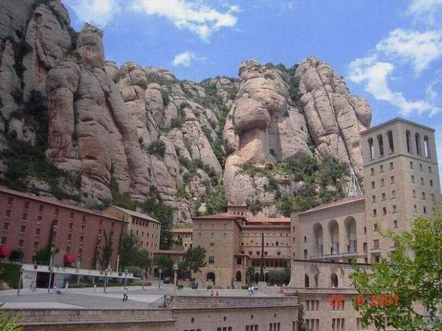 Zdj�cia: Monserat, Katalonia, Klasztor na Montserrat, HISZPANIA