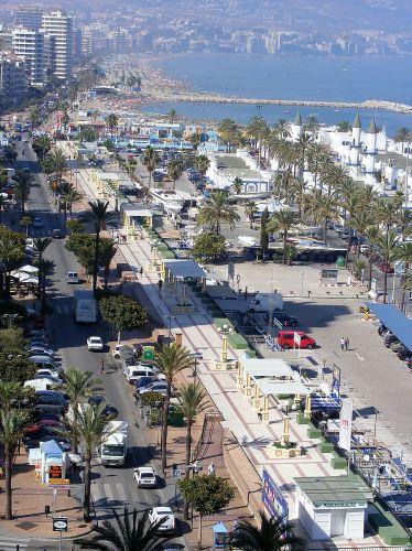 Zdjęcia: Fuengirola, Andaluzja-Costa del Sol, Widok na Fuengirolę w południe, HISZPANIA