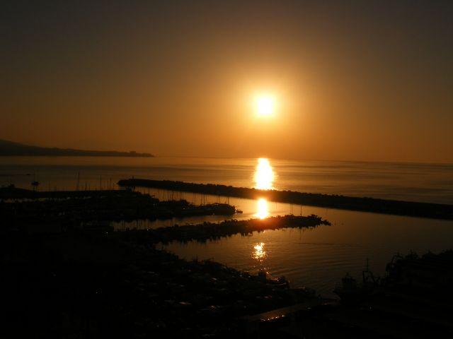 Zdjęcia: Fuengirola, Andaluzja-Costa del Sol, Wschó słońca, HISZPANIA