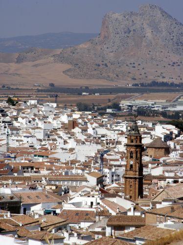 Zdjęcia: Antequera, Andaluzja, Panorama miasta, HISZPANIA