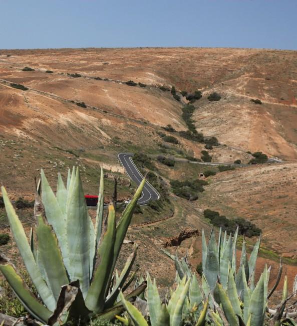 Zdjęcia: Betancuria, Fuerteventura/Wyspy Kanaryjskie, Droga, HISZPANIA