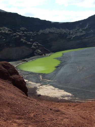 Zdjęcia: Lanzarote, Wyspy Kanaryjskie, Zielona Laguna, HISZPANIA