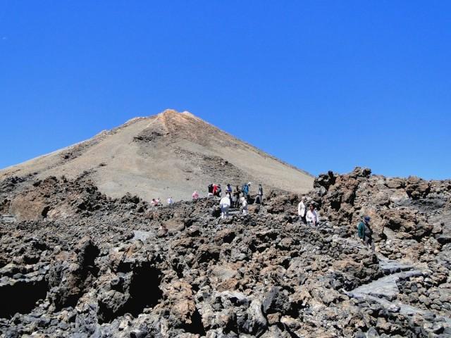 Zdjęcia: Teneryfa, Park Narodowy del Teide, Wyspy Kanaryjskie, Prawie na szczycie., HISZPANIA