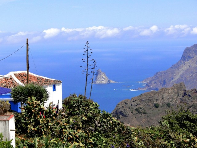 Zdjęcia: Taborno., Wyspy Kanaryjskie, Teneryfa, Wieś Taborno górach Anaga., HISZPANIA