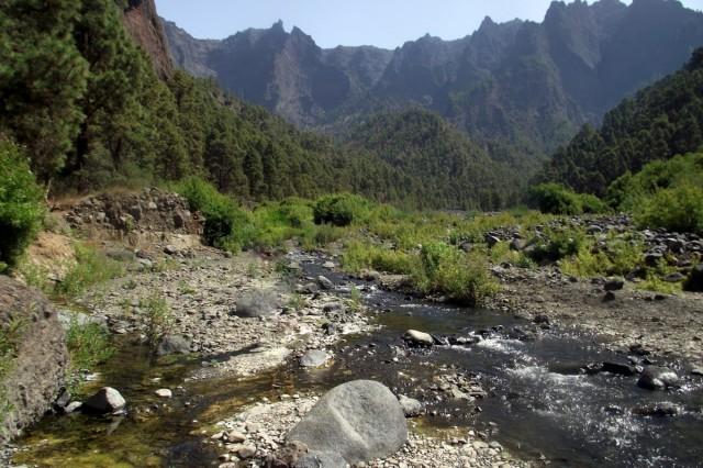 Zdjęcia: La Palma, Park Narodowy Caldera de Taburiente, Wyspy Kanaryjskie, Playa Taburiente , HISZPANIA