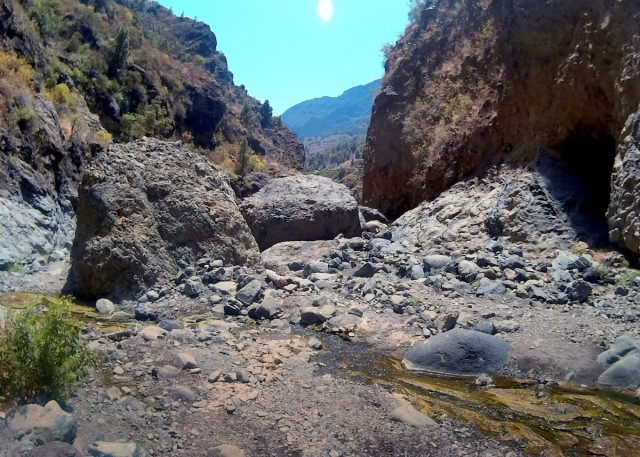 Zdjęcia: La Palma, Wyspy Kanaryjskie, Barranco de Las Angustias , HISZPANIA