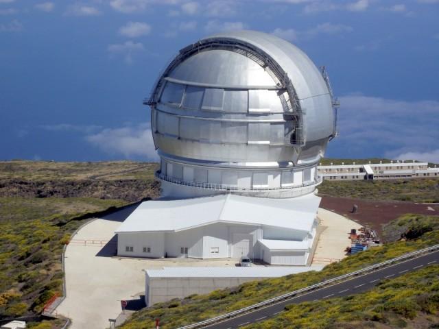 Zdjęcia: La Palma, Park Narodowy Caldera de Taburiente, Wyspy Kanaryjskie, Gran Telescopio Canarias, HISZPANIA