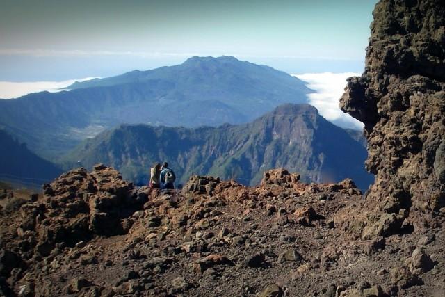 Zdjęcia: La Palma, Park Narodowy Caldera de Taburiente, Wyspy Kanaryjskie, Na dachu La Palmy, HISZPANIA
