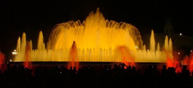 Zdjęcia: Barcelona, Katalonia, Magiczne Fontanny Barcelona, HISZPANIA