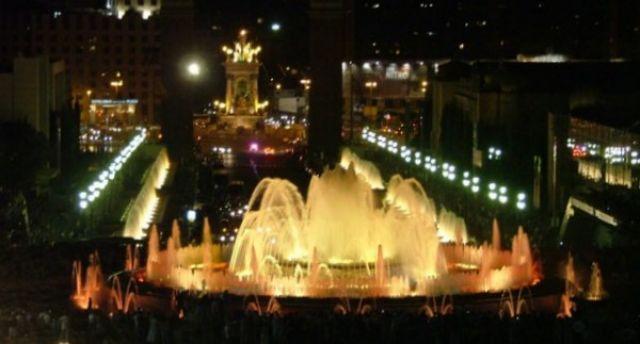 Zdjęcia: Barcelona, Katalonia, Magiczne Fontanny II, HISZPANIA
