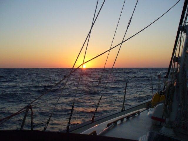 Zdjęcia: okolice Cartageny, Morze Śródziemne, Wschód w wantach, HISZPANIA