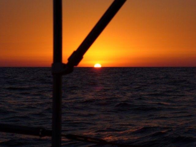 Zdjęcia: okolice Cartageny, Morze Śródziemne, Zachód na Morzu Śródziemnym 2, HISZPANIA