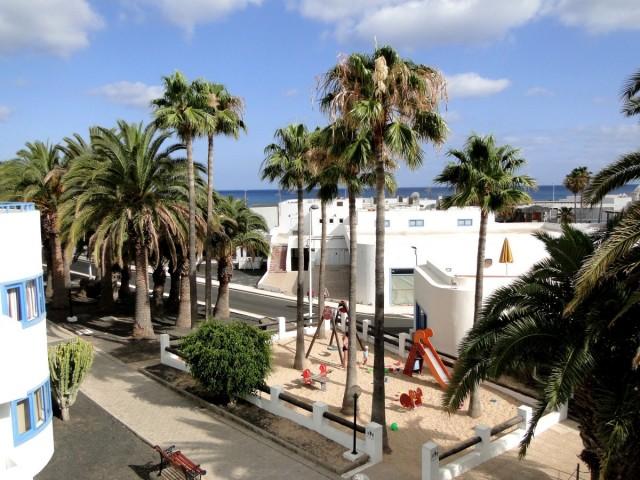 Zdjęcia: Lanzarote, Wyspy Kanaryjskie, Wspomnienie z Lanzarote - widok z okna, HISZPANIA