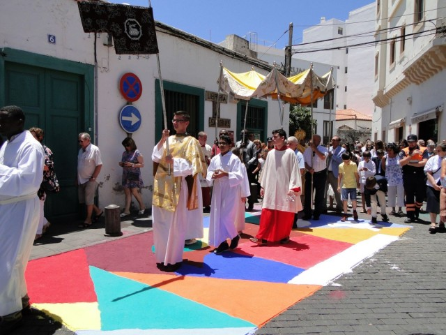 Zdjęcia: Lanzarote, Arrecife, Wyspy Kanaryjskie, Z serii: Boże Ciało w Arrecife (10), HISZPANIA