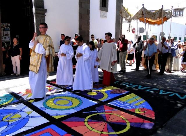 Zdjęcia: Lanzarote, Arrecife, Wyspy Kanaryjskie, Z serii: Boże Ciało w Arrecife (12), HISZPANIA