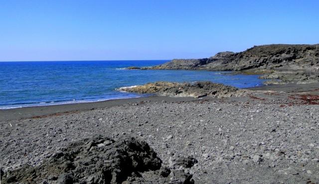 Zdjęcia: Lanzarote, Wyspy Kanaryjskie, Wspomnienie z Lanzarote - dzika plaża, HISZPANIA