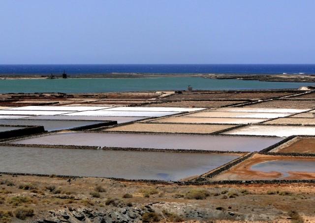 Zdjęcia: Lanzarote, Wyspy Kanaryjskie, Salinas de Janubio (1), HISZPANIA