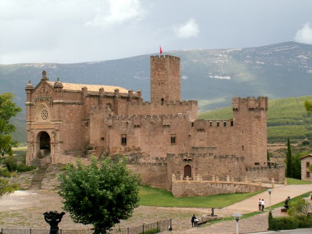 Zdjęcia: Castillo de Javier, Navarra, Castillo de Javier, HISZPANIA