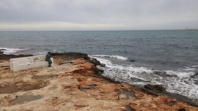 Zdjęcia: Brzeg morza., Alicante, Torrevieja, HISZPANIA