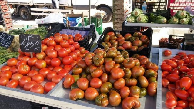 Zdjęcia: El Verger , Marina Alta, Na rynku., HISZPANIA