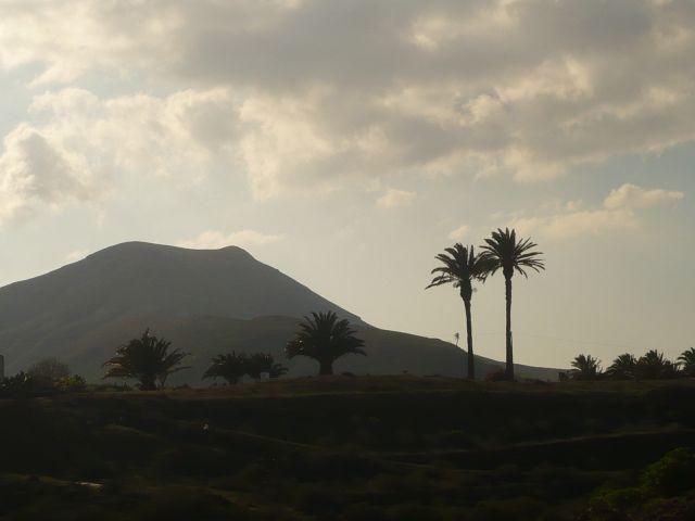 Zdjęcia: lanzarote, -Lanzarote, wulkany i palmy, HISZPANIA