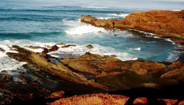 Zdjęcia: Lanzarote, Lanzarote, skalne wybrzeze, HISZPANIA