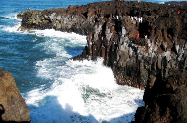 Zdj�cia: Lanzarote, Lanzarote, skalne wybrzeze1, HISZPANIA